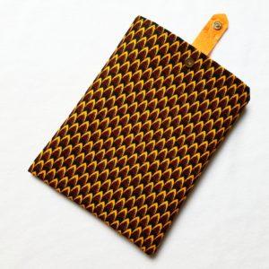 Pochette à livres – tissu Wax Gabon