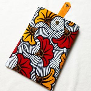 Pochette à livres – tissu Wax Côte d'Ivoire