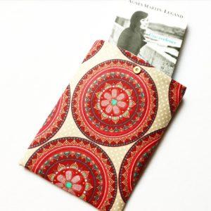 Pochette à livres – tissu Mandala