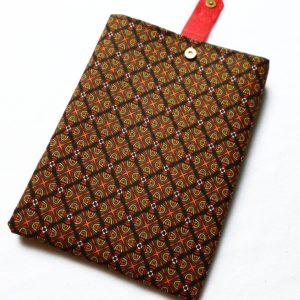 Pochette à livres – tissu mosaïque