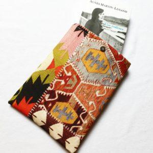 Pochette à livres – tissu Ethnique