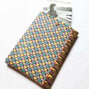 Pochette à livres – tissu Maya