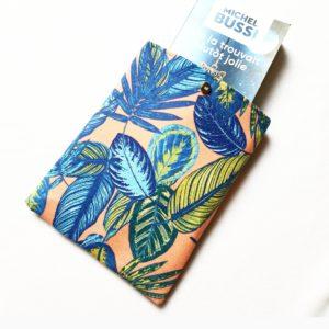 Pochette à livres – tissu Amazonie