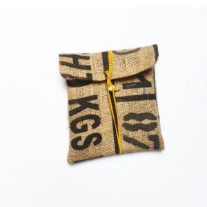 Pochette en sac de café – 11|87 –