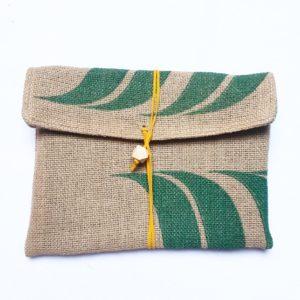 Pochette en sac de café – Café do Brésil