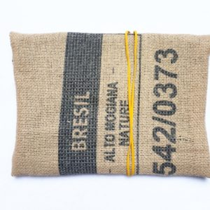 Pochette en sac de café – Brésil
