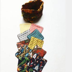 10 cotons lavables en polaire – Ouidah