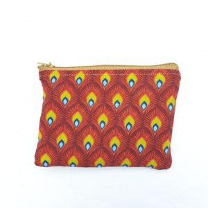 Porte monnaie en jute et tissu –  Murwara
